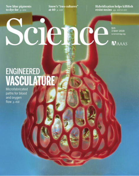 image of the Science cover from our publication